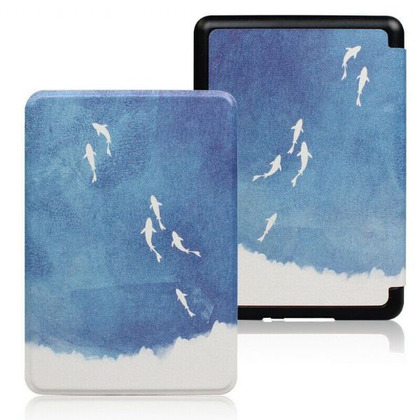 Kindle Paperwhite Art Case Cover Fish From Above